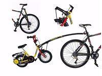 Trail-Gator Child Bike Tow Bar (Black) plus free additional accessories