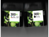 Genuine HP 300 xl Ink cartridges