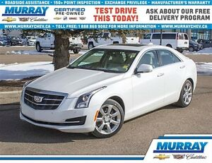 2015 Cadillac ATS 2.0 Turbo Luxury *AWD *Leather *Remote Start