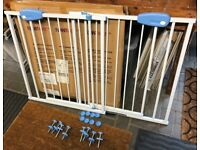Infantastic – Extendable Child Safety Barrier Steel 74-87 cm