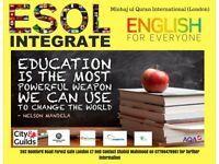 Voluntary English ESOL Teacher required