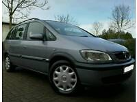 2004/04 VAUXHALL ZAFIRA 2.0 DTI *IMMACULATE CONDITION 3 OWNERS SUPERB 7 SEATER*