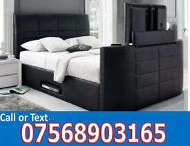 BED BRAND NEW ELECTRIC TV BED AND STORAGE 027