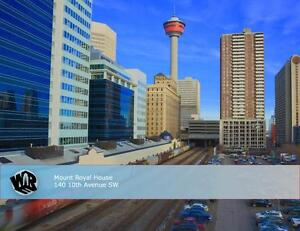 Mount Royal House: Live Downtown!