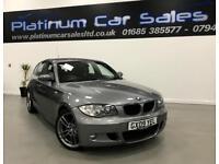 BMW 1 SERIES 118D M SPORT (grey) 2009