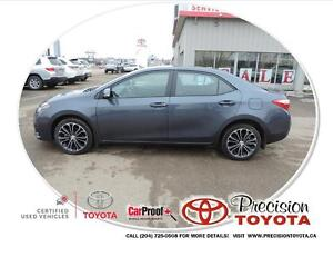 2014 Toyota Corolla S Local One Owner, Heated Seats, Bluetoot...