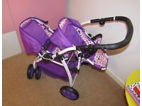 Dimples Ella Double Pushchair