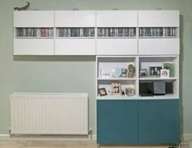 GREAT CONDITION -Ikea Besta Wall Storage Units