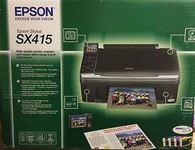 Epson Stylus SX415 printer & scanner
