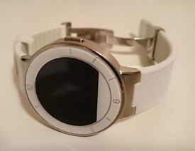 Alcatel OneTouch SM02 Smart Watch WHITE with Heart Rate