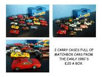 1970'S 1980'S MATCHBOX CARS LORRIES TRUCKS GARAGE