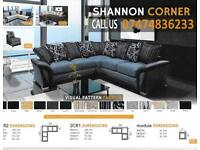 Good Quality Fabric Shannon Sofa DNi