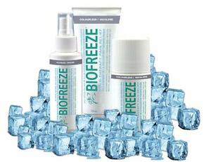 NEW Biofreeze Pain Relief Cold Therapy (Gel, Spray or Roll-on) www.biofreezeonline.ca