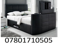 BED BRAND NEW ELECTRIC TV BED AND STORAGE 8760