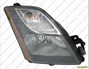 Head Light Passenger Side Se-R High Quality Nissan SENTRA 2010-2012