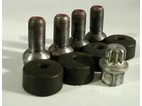 Genuine VW Audi Seat Skoda locking wheel bolts