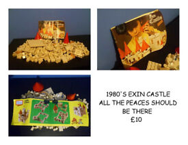 1980'S LEGO STYLE CASTLE EXIN COLLECTABLE