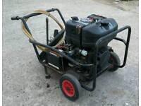 Lombardini diesel power washer key start