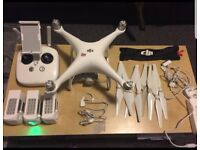 DJI PHANTOM 4 ( INC 4 BATTERY )