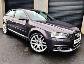 2010 AUDI A3 S LNE 1.6 TDI 105 3 DOOR *LOW MILES* NOT A1 A4 VW GOLF POLO SEAT LEON IBIZA POLO JETTA