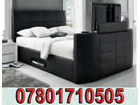 BED BRAND NEW ELECTRIC TV BED AND STORAGE 9362