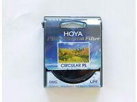 Hoya 58mm Pro1 Digital Circular Polarizer Mint Condition