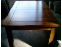 Oak dining table from Oakland Furniture