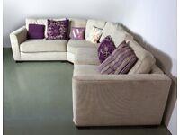 Furniture Village Corner Sofa Bed: RRP £2500
