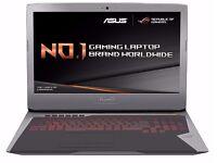 ASUS G752 GTX 980M 24GB RAM 1TB + 256GB HDD SSD GAMING LAPTOP