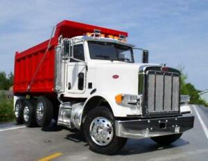 Dump Truck Financing - Best Rates - $0 Down Payment - Quick Online Application - New Start-Ups Welcome