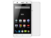 Unlocked STK Hero X Mobile Phone - White - Dual SIM- New in Box