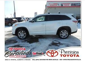 2014 Toyota Highlander XLE Local One Owner, Accident Free, Le...