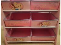 Disney princess storage unit