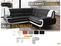 palermo 3+2and corner sofa set ayA