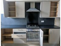 ** Howdens kitchen with gas hob and oven **