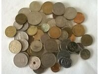 assortment of old coins ' including twelve old french coins