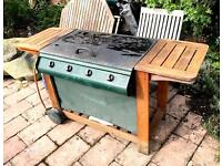 Outback 4 Burner Gas Barbecue