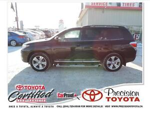 2013 Toyota Highlander V6 Sport, Leather, Heated Seats, Comma...