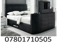 BED BRAND NEW ELECTRIC TV BED AND STORAGE 18609