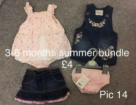 Baby Clothes - 3 to 6 Months