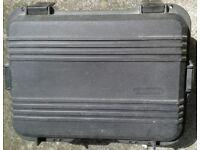 hard case for camera equipment etc. Similar to 'Peli'
