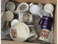 Selection of Royal Collectables