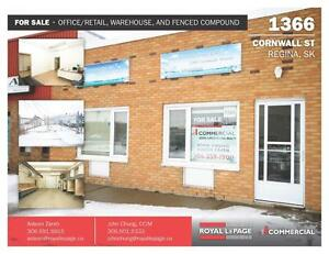 Office/Retail/Warehouse Space - 1366 Cornwall Street