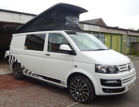 Volkswagen T26 Campervan, 2010, White with lots of extras!