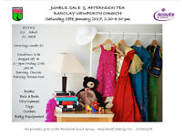 Jumble Sale and Afternoon Tea