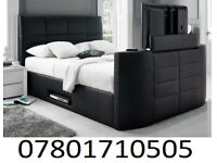 BED BRAND NEW ELECTRIC TV BED AND STORAGE 0186
