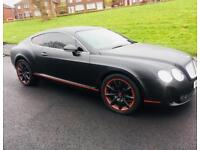 Bentley continental GT supersport 6.0 w12 550 bhp not rs6 rs5 Porsche m5 rs4 Range Rover sport vouge