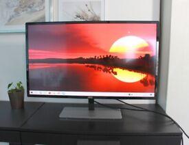 AOC 31.5-inch Quad HD Monitor 75Hz, AMD FreeSync