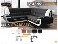 palermo 3+2and corner sofa set th
