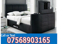 BED BRAND NEW ELECTRIC TV BED AND STORAGE 4784